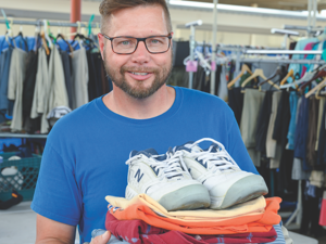 Give Clothing for Neighbors in Need